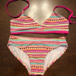 Tiki Beach Swim - TIKI BEACH 2pc Swim Suit w/ Swim Shirt